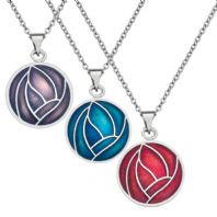 Mackintosh Rose Pendant Glass Enamel